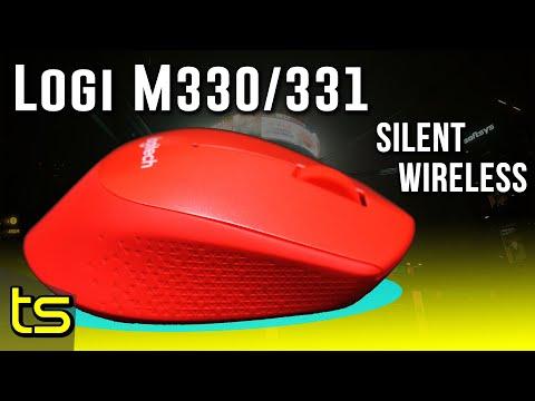 SILENT, WIRELESS new Logitech M330 / M331 mouse