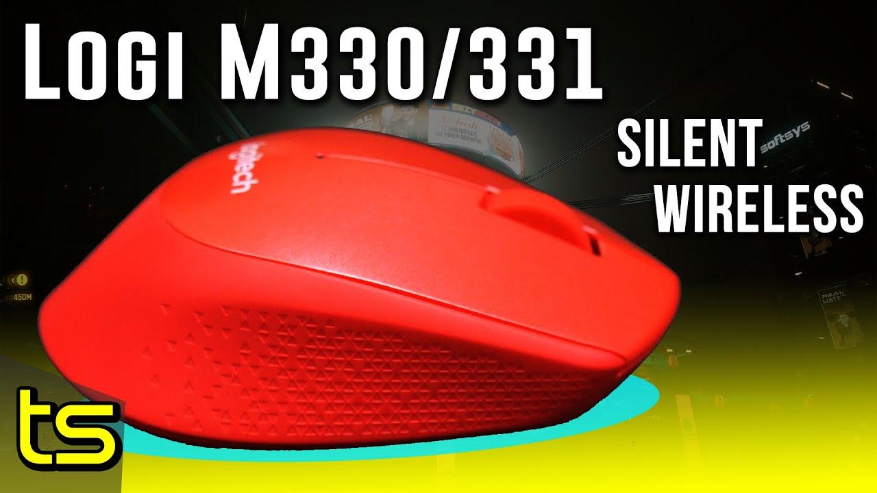 Logitech M331 M330 Silent Plus Wireless Mouse Youtube