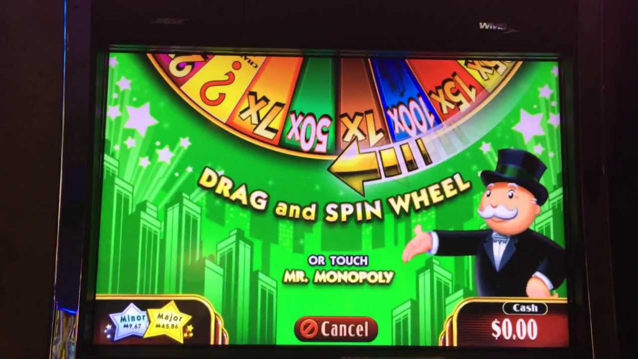 Monopoly Slot Machine Big Win