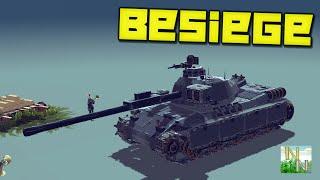 Besiege Французский танк AMX-30  V0.27(Вы оцените постройки с которыми можно интересно поиграть. □AMX-30: http://bit.ly/1St8x6I ---------------------------------------------------------..., 2016-04-02T11:00:00.000Z)