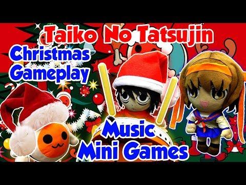 ABM: Taiko No Tatsujin Christmas Gameplay !! MUSIC & MINI GAMES!! HD