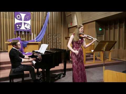 Berceuse (from Amy Beach's Three Pieces For Violin & Piano, Op. 40)