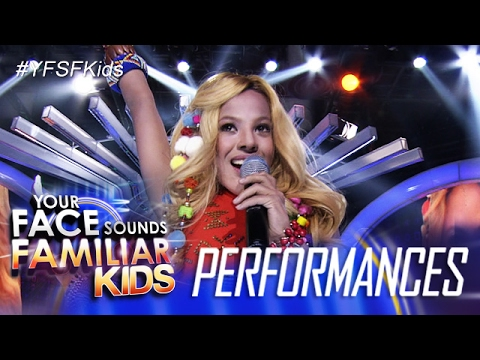Your Face Sounds Familiar Kids: Awra Briguela as Shakira - Waka Waka