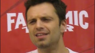 Sebastian Stan being Confused for 1 Minute