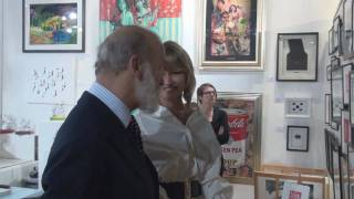 HRH Prince Michael of Kent at Salon Art Bizarre 2010