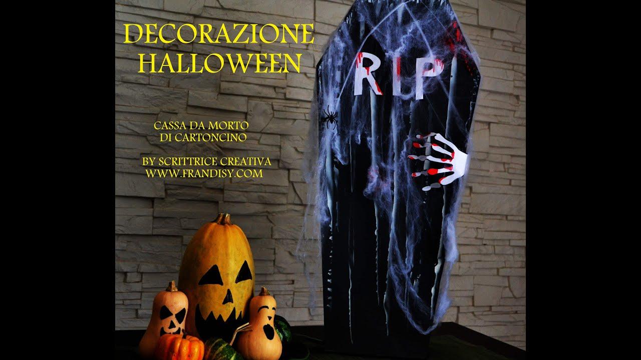Bara halloween fai da te cassa da morto per halloween di for Cascate per laghetti fai da te