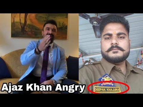 Justice For Asifa || Ajaz Khan angry reaction ||  MLA Kuldeep Singh