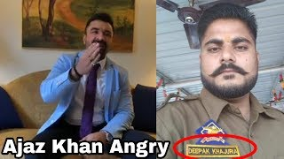 Justice For Asifa || Ajaz Khan angry reaction |...
