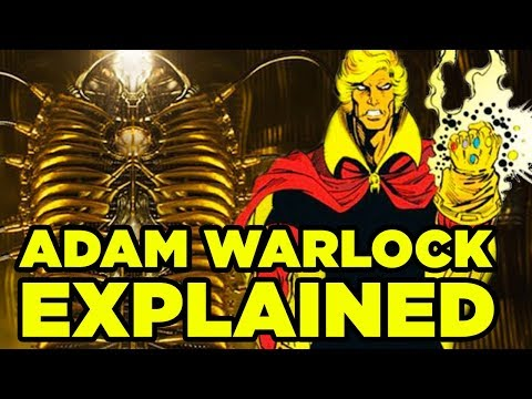 Who Is ADAM WARLOCK? (Can He Beat Thanos?) - Avengers 4 And Guardians Of The Galaxy 3 PREDICTIONS