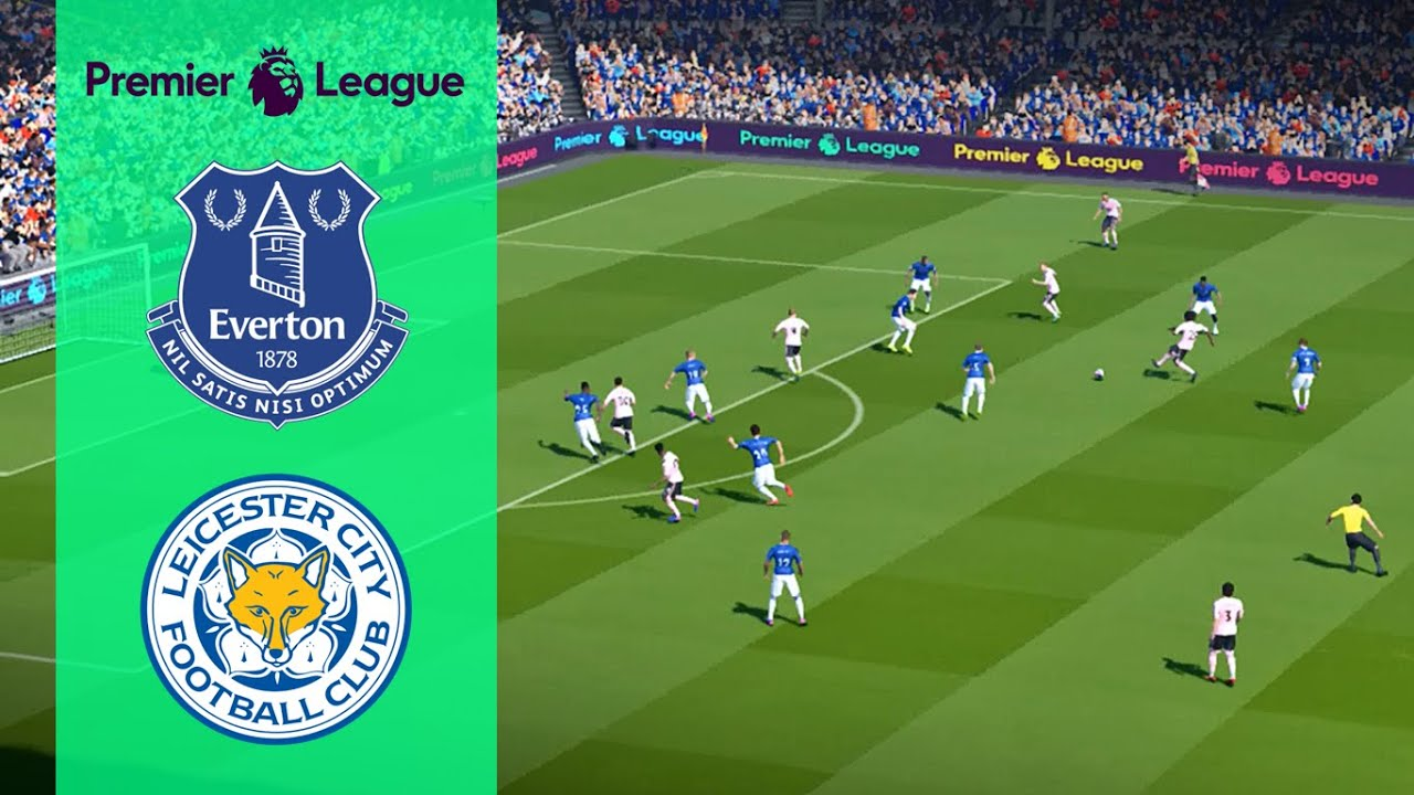 Download Everton vs Leicester City - Premier League 2019/2020 - 01 July 2020 - Full Match - Gameplay
