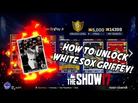 HOW TO UNLOCK WHITE SOX KEN GRIFFEY JR.! - MLB The Show 17 Diamond Dynasty