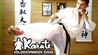 Хитрый удар уширо маваши чудан / Ushiro mavashi chudan / техника кекуcинкай каратэ /мма таэквондо