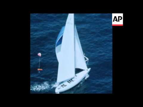 SYND 8-7-70 YACHTS IN ELIMINATION SERIES OF THE US AMERICAS CUP