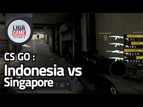CS GO :  Indonesia vs Singapore
