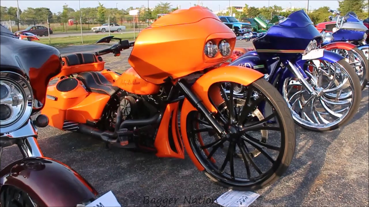 Bagger Nation - Custom Harley Baggers, Air Ride, Big Wheels, 30