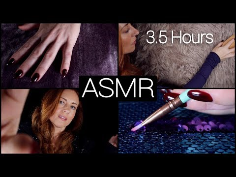 ASMR 🙌🏼 3.5 HOURS  🙌🏼  Fabric Sounds 🤗 NO TALKING [Long]