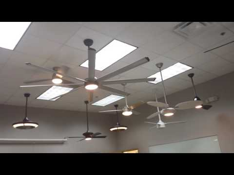 Fanimation Product Display Room (Upstairs Boardroom) Ceiling Fan Display Demonstrations TAKE 2