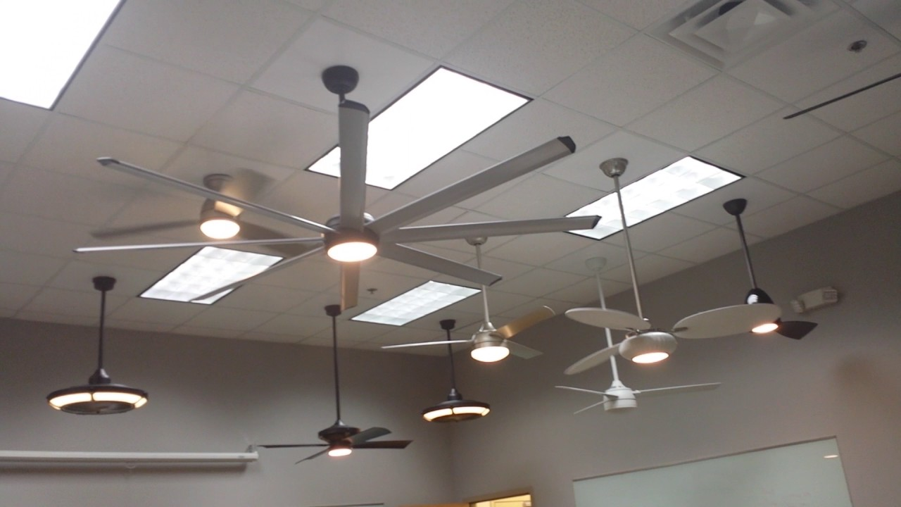 Fanimation Product Display Room (Upstairs Boardroom) Ceiling Fan Display Demonstrations TAKE 2