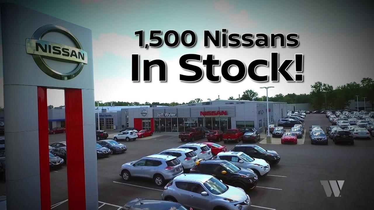 Jeff Wyler Nissan >> 1500 Nissans In Stock At Jeff Wyler Nissan Dealerships In