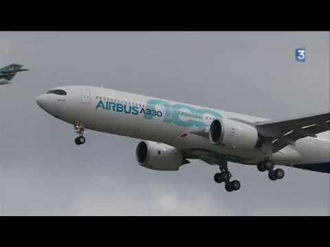 Airbus : premier vol d