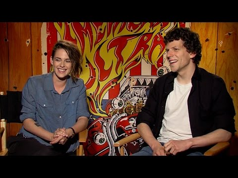Kristen Stewart & Jessie Eisenberg Talk Reuniting For 'American Ultra'