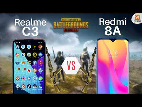 Realme C3 vs Redmi 8A: PubG comparison! Gaming test! from YouTube · Duration:  11 minutes 18 seconds