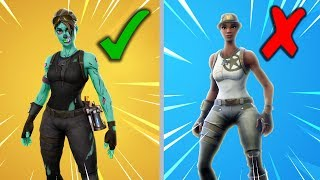 Top 5 Rare Skins Left In Fortnite Season 7