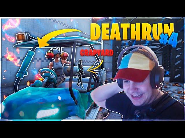 DEATHRUN I FORTNITE #4 (DUO RUN!)