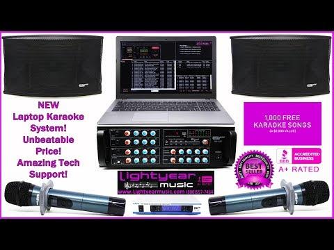Laptop Karaoke | Karaoke Software | Home Karaoke | Karaoke Songs | Youtube Karaoke | Pro Audio ✅