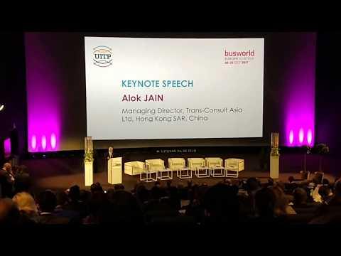 Keynote Address - Mr. Alok Jain @ UITP-BusWorld International Bus Conference 2017