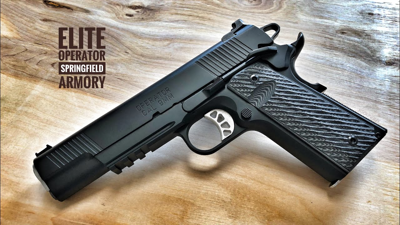 Springfield Armory Elite Operator - Is This The Best 9mm 1911?