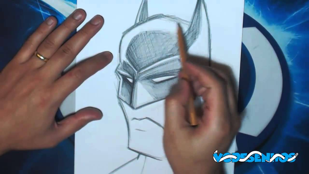 Como Desenhar Batman Comic Youtube