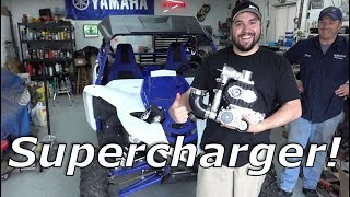 Download Yamaha YXZ Packard Supercharger install! Vs YXZ vs X3! Mp3 and Videos