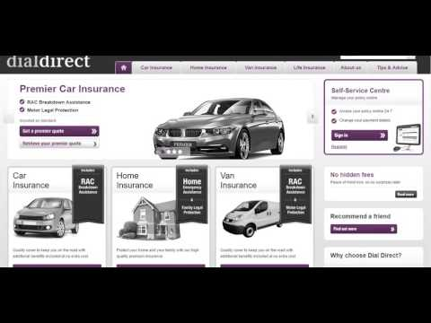 Car Insurance   Dial Direct