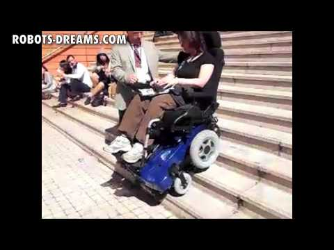 TOP CHAIR - Stair Climbing Robotic Wheel Chair