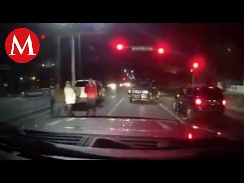 Narcos hacen retén cerca de puente internacional de Nuevo Laredo