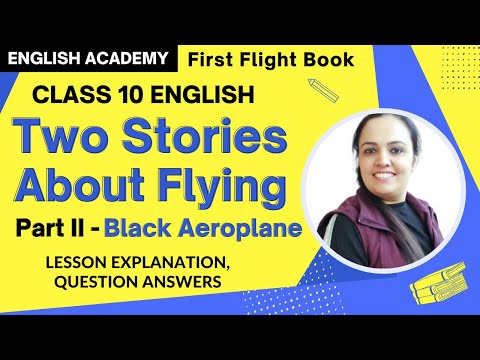 Black Aeroplane Class 10 CBSE Summary, Explanation, Questions