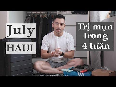 Singapore HAUL Tháng 7 mình mua gì? | Cách sạch mụn trong 4 tuần | Dinology