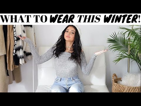 Winter Trend Alert! Cold Weather Outfits