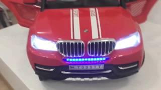 Купить детский электромобиль RiverToys BMW T005TT  на pushishki.ru(НОВИНКА 2016 года электромобиль RiverToys BMW T005TT. ПОЛНОПРИВОДНОЙ ДВУХМЕСТНЫЙ ЭЛЕКТРОМОБИЛЬ!!! Электромобиль RiverToys..., 2016-03-23T22:01:20.000Z)