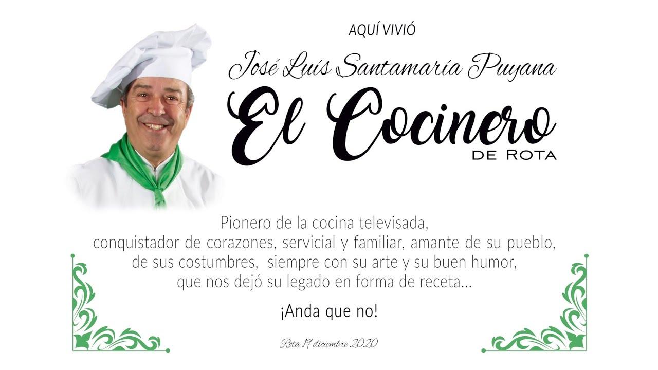 Homenaje e inauguración de la Calle El Cocinero de Rota