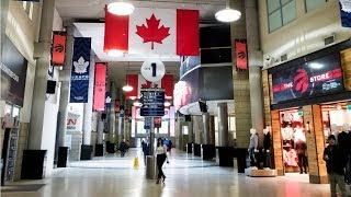 Toronto PATH from Scotiabank Arena to CN Tower Skywalk walk