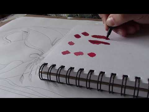 New YouTube video of me using pro markers on my new illustration
