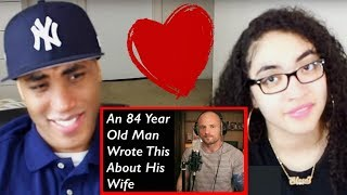Mac Lethal An 84 Year Old Man Wrote This About His Wife REACTION | MY DAD REACTS