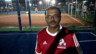 Post Match Interview With FC Bayern Singapore's Patrick Selvamani