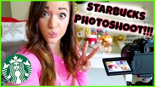 STARBUCKS PHOTO SHOOT?!?! Thumbnail