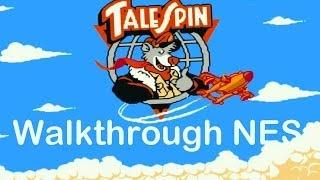 TALE SPIN dendy / NES прохождение игры, Чудеса на виражах [041]