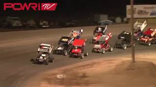 POWRi 305 Winged Sprint Car Highlights 4/6/18