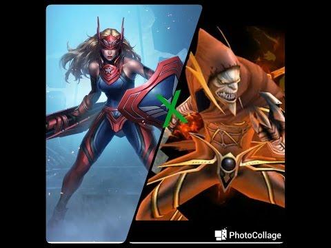 Sharon Rogers x Chefe Mundial Marvel Future Fight