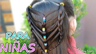 Peinado Para Ninas Con Ligas Para La Escuela Peinados Faciles Y